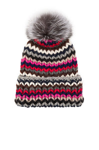 Rain Arctic Fox Fur Beanie - Kustom Label - 4