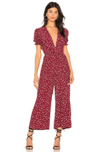 Load image into Gallery viewer, Bonnie Jumpsuit in Berry Betina Floral
