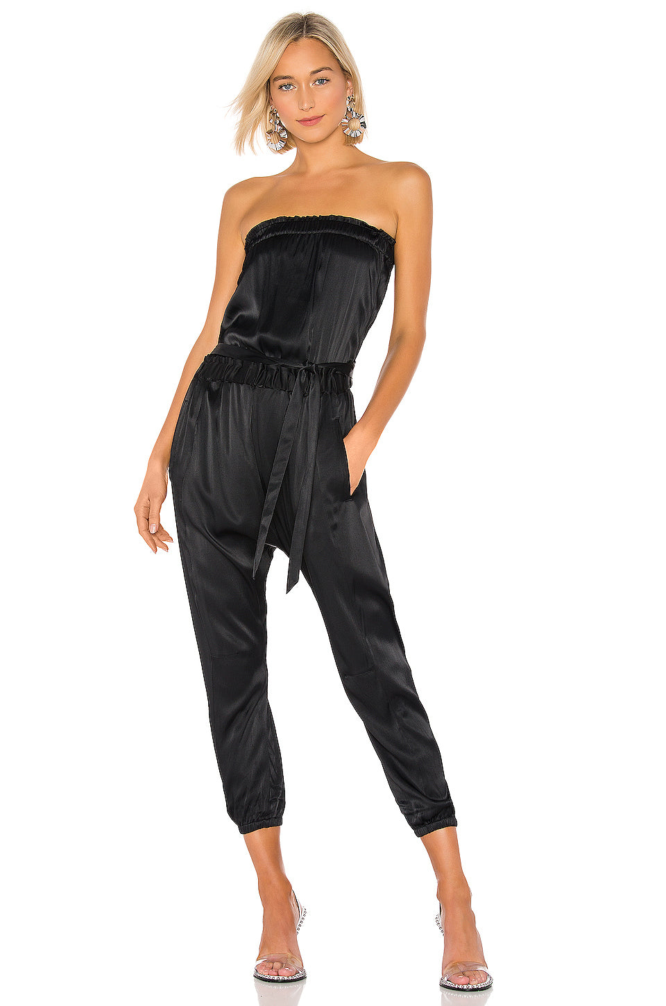 Harem Jumpsuit in Noir