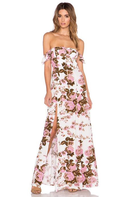 Bardot Maxi Dress - Kustom Label - 1