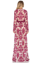 Load image into Gallery viewer, Red Vintage Maxi Dress - Kustom Label - 2