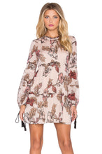 Load image into Gallery viewer, Floral Rose Mini Dress - Kustom Label - 1