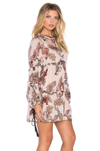 Load image into Gallery viewer, Floral Rose Mini Dress - Kustom Label - 2