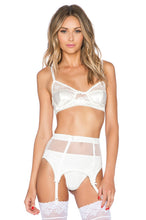 Load image into Gallery viewer, White Flower Bra - Kustom Label - 1