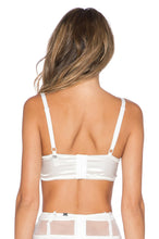 Load image into Gallery viewer, White Flower Bra - Kustom Label - 3