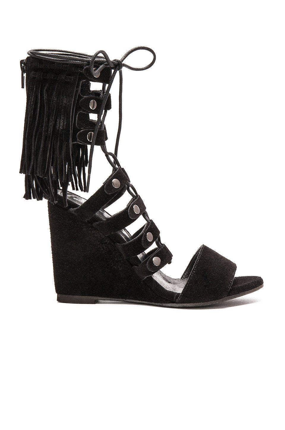 Solstice Fringe Wedge - Kustom Label - 1