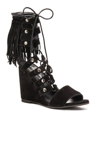 Solstice Fringe Wedge - Kustom Label - 3