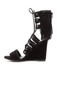 Solstice Fringe Wedge - Kustom Label - 2