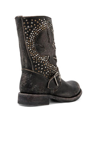 Jenna Skull Stud Short Boot - Kustom Label - 5