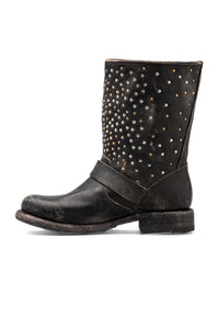 Jenna Skull Stud Short Boot - Kustom Label - 2
