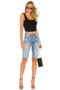 Beverly Denim Short in Out Of The Blue