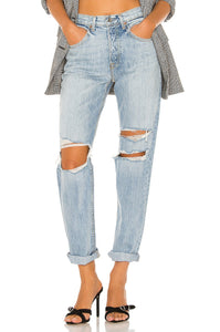 Isabeli Straight Leg Bootcut Denim in Wish You Would