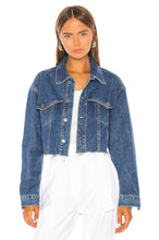 Load image into Gallery viewer, Faye Denim Jacket in Fast Lane