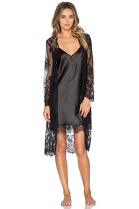 Dahlia Lace Robe - Kustom Label - 3