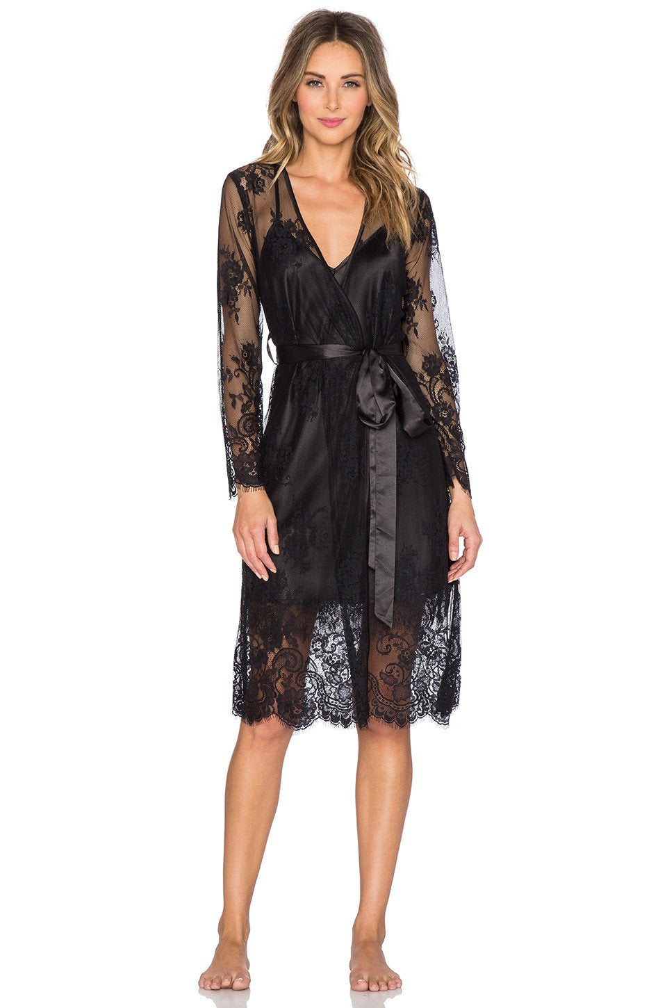 Dahlia Lace Robe - Kustom Label - 1
