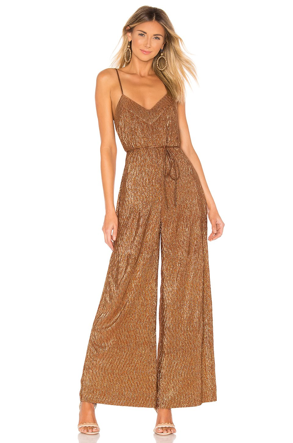 Karel Jumpsuit in Bronze