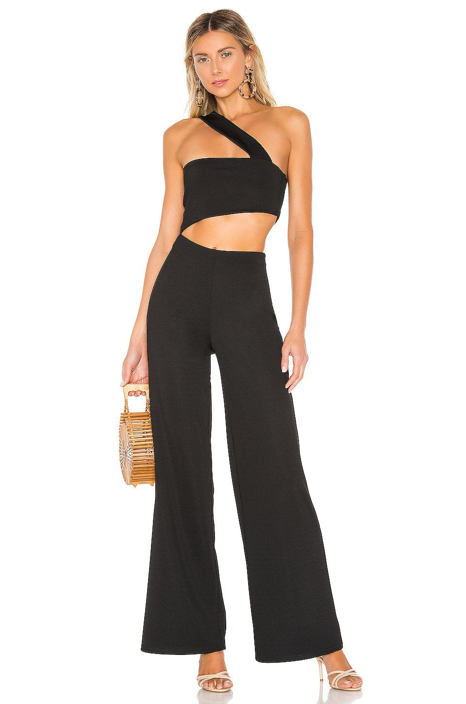 Fabien Jumpsuit in Black