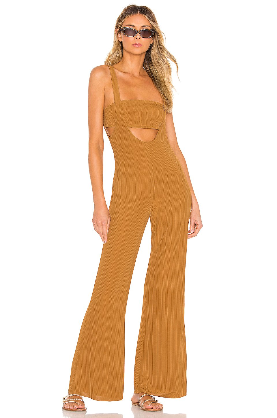 Morin Jumpsuit in Toffee