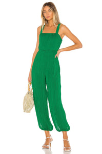 Alandra Jumpsuit in Kelly Green