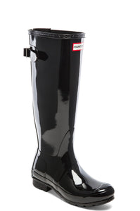 Original Back Adjustable Gloss Rain Boot - Kustom Label - 2