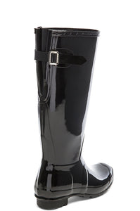 Original Back Adjustable Gloss Rain Boot - Kustom Label - 5