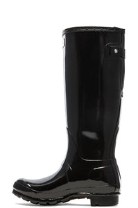 Original Back Adjustable Gloss Rain Boot - Kustom Label - 3