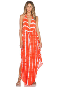 Imani Solid Halter Maxi Dress - Kustom Label - 1