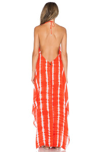 Imani Solid Halter Maxi Dress - Kustom Label - 3