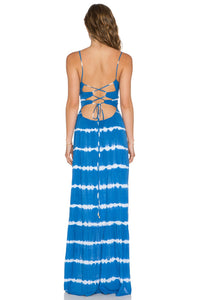 Zera Ruffle Bottom Maxi Dress - Kustom Label - 4