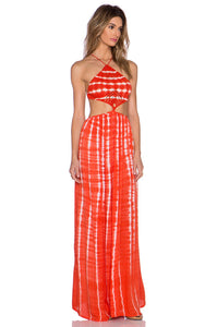 Revel Crochet Halter Maxi Dress - Kustom Label - 2