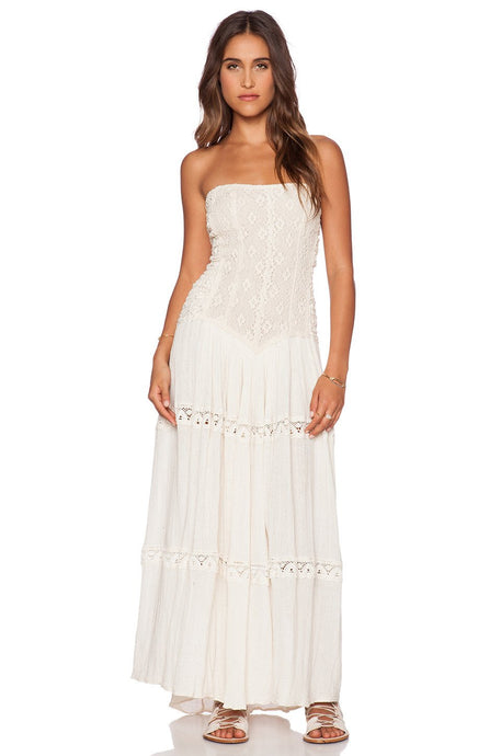 Cherokee Rose Maxi Dress - Kustom Label - 1