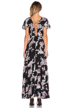 Load image into Gallery viewer, Rosa Floral Maxi Dress - Kustom Label - 3