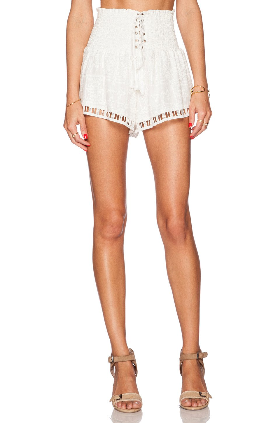 Lady In White Short - Kustom Label - 1