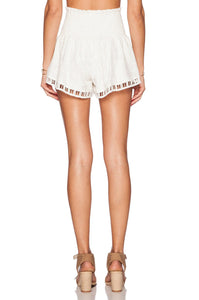 Lady In White Short - Kustom Label - 3