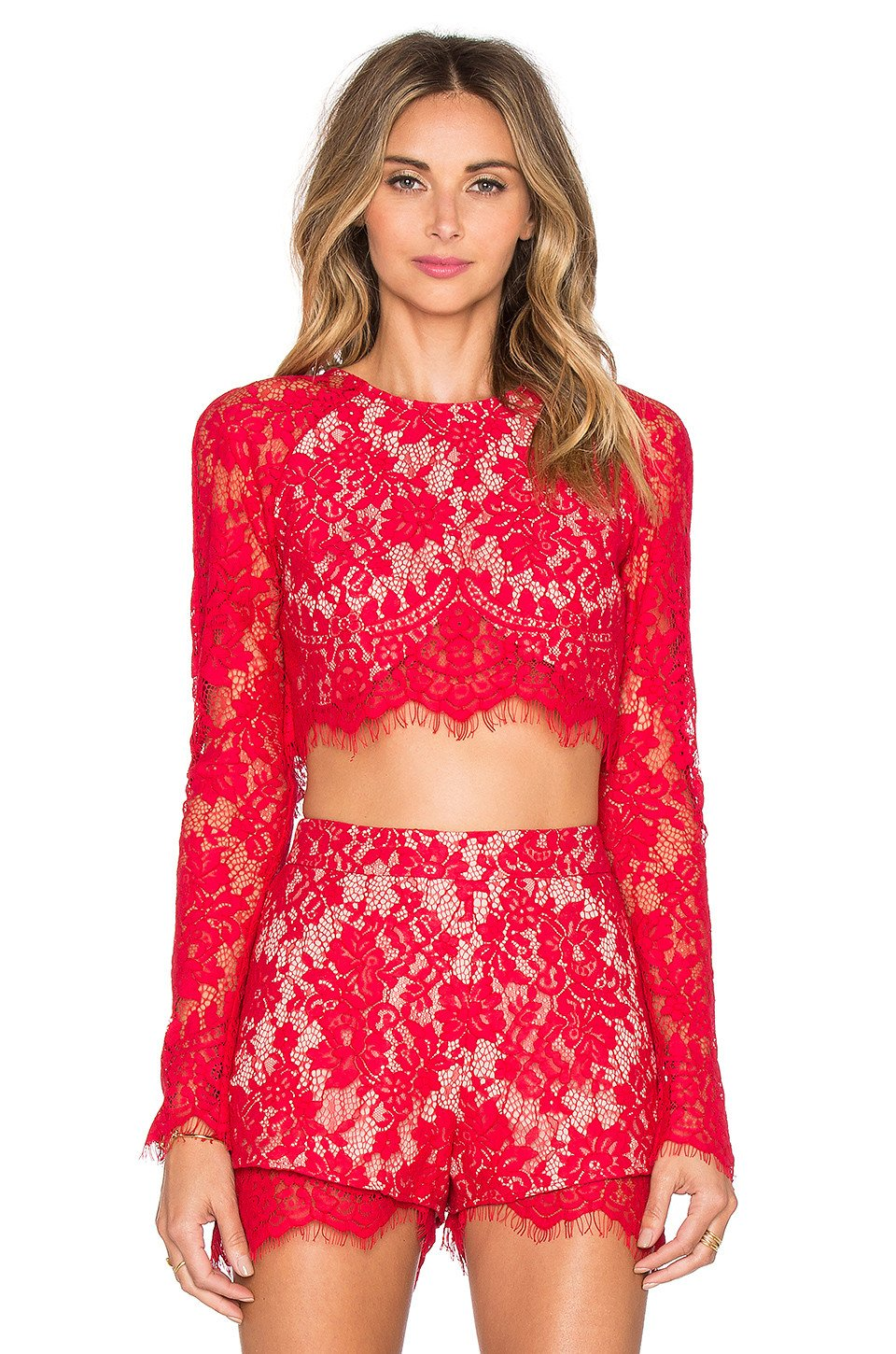 Piazza Crop Top - Kustom Label - 1