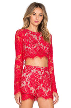 Load image into Gallery viewer, Piazza Crop Top - Kustom Label - 3