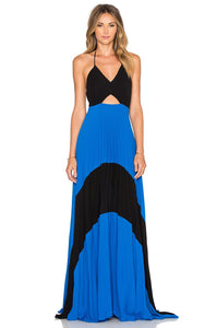 Fabi Pleated Maxi Dress - Kustom Label - 1