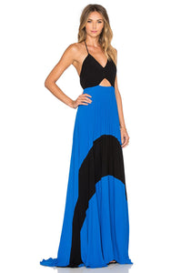Fabi Pleated Maxi Dress - Kustom Label - 2