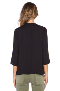 Surplice 3/4 Blouse - Kustom Label - 3