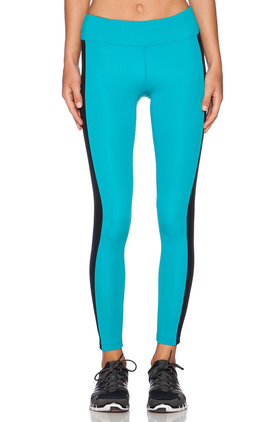 Dynamic Duo Crop Legging - Kustom Label - 1