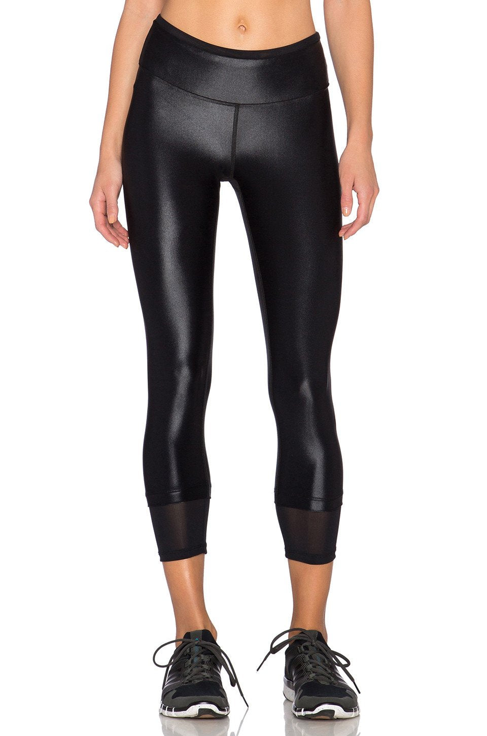Sky Scraper Echo Crop Legging - Kustom Label - 1