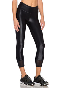 Sky Scraper Echo Crop Legging - Kustom Label - 3