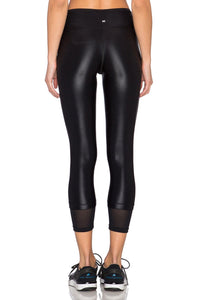 Sky Scraper Echo Crop Legging - Kustom Label - 4