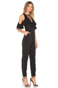 Lace Up Jumpsuit - Kustom Label - 3
