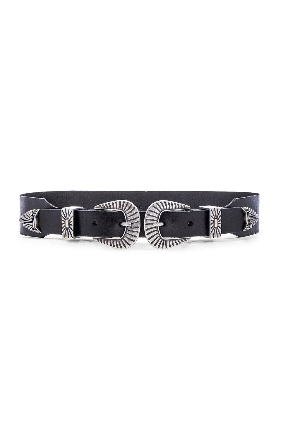 Double Buckle Belt - Kustom Label - 1