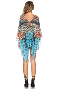 Open Side Poncho - Kustom Label - 3