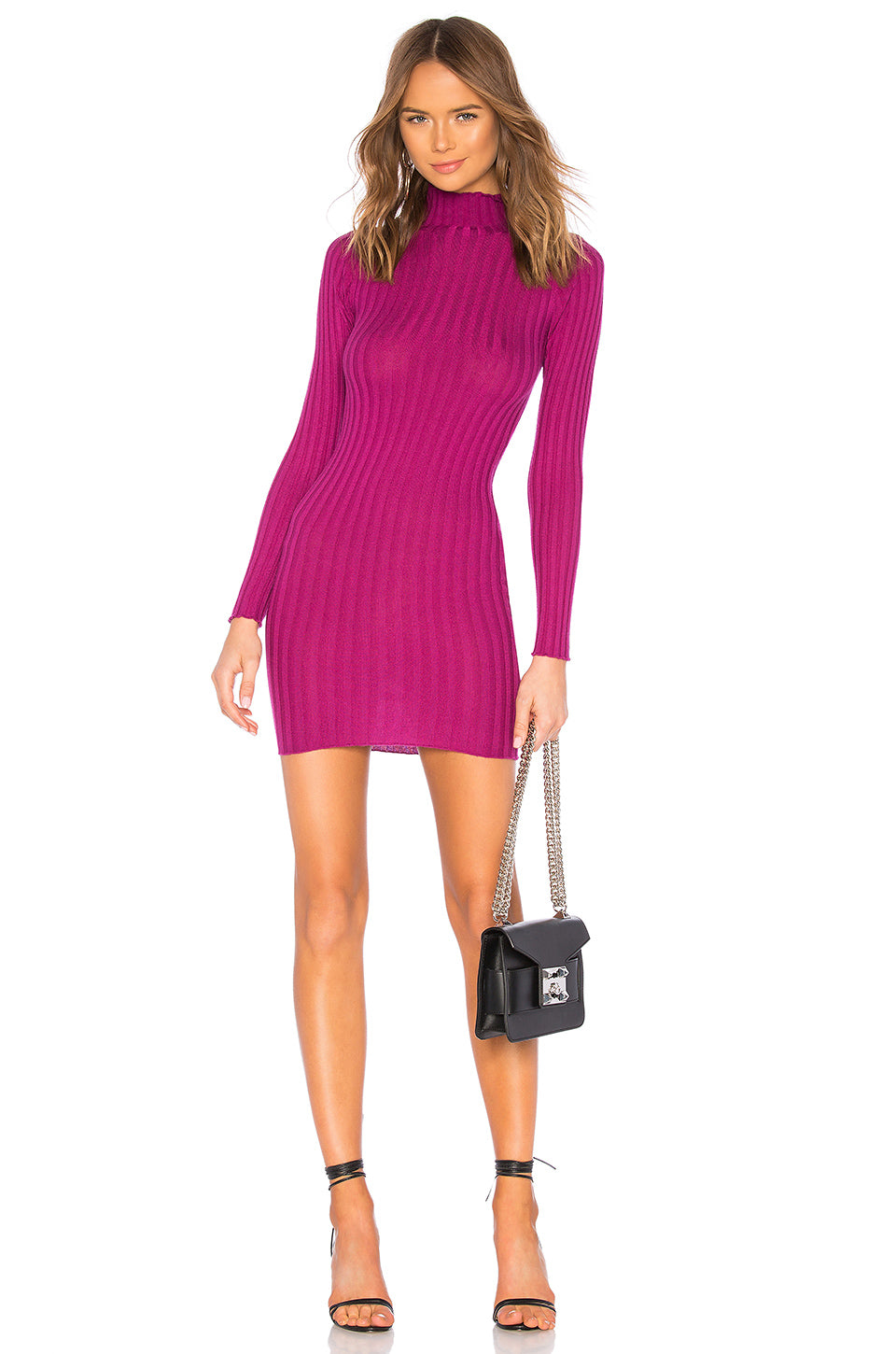Be Fierce Mini Dress in Magenta