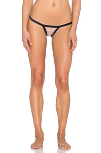 Stripe Illusion Thong - Kustom Label - 1
