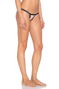 Stripe Illusion Thong - Kustom Label - 4
