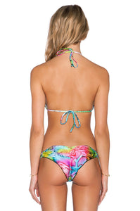 Sea Salt Angel Crystal Triangle Bikini Top - Kustom Label - 3